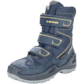 Lowa Milo GTX High Shoes Kids navy/ocker